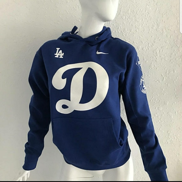 Cotton Heritage Sweaters Los Angeles Dodgers Hoodie Pull Over New
